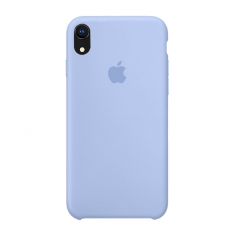 Чохол-накладка iPhone Xr Silicone Case lilac cream