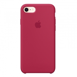 Чехол-накладка iPhone Xs Silicone Case rose red