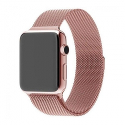 Ремешок для Apple Watch Milanese Loop 42 mm/44 mm rose gold