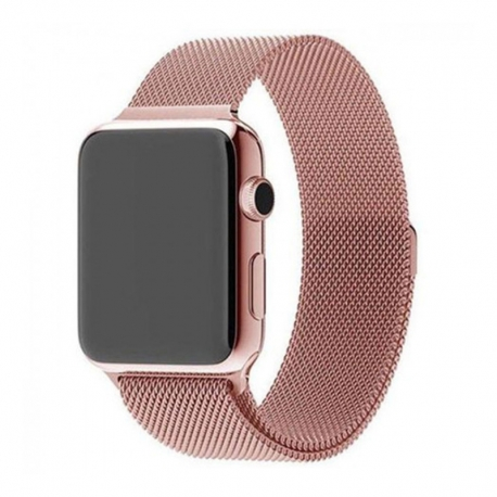 Ремінець для Apple Watch Milanese Loop 42 mm/44 mm rose gold