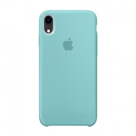 Чохол-накладка iPhone Xr Silicone Case turquoise
