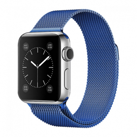Ремінець для Apple Watch Milanese Loop 38 mm/40 mm blue