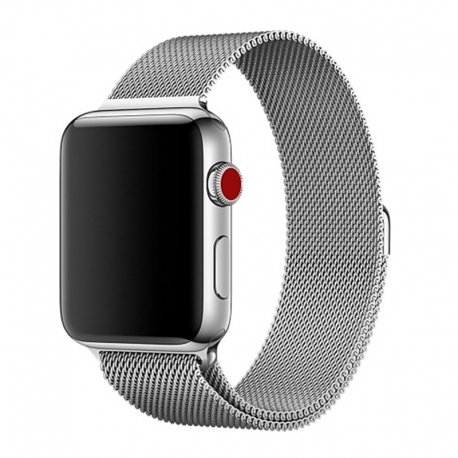 Ремінець для Apple Watch Milanese Loop 38 mm/40 mm silver