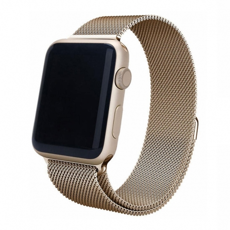Ремінець для Apple Watch Milanese Loop 38 mm/40 mm sand gold