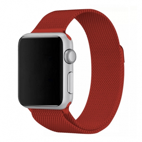 Ремінець для Apple Watch Milanese Loop 38 mm/40 mm red