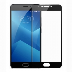 Защитное стекло Meizu M6 Note Full Screen Black