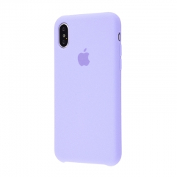 Чехол-накладка iPhone Xr Silicone Case light purple