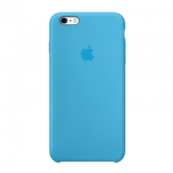 Apple iPhone 6S Plus Silicone Case Blue MKXP2