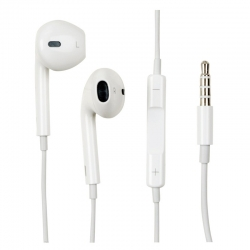 HandsFree iPhone 5 Apple Earpods High copy white (MD827) (box)