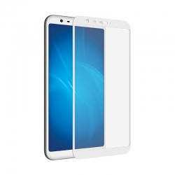 Захисне скло Meizu M8 Lite/M8 Full Screen White (тех упак)