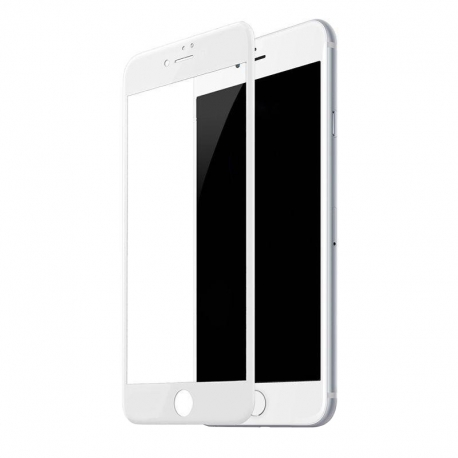 Защитное стекло IPhone 7Plus/8Plus FULL SCREEN ACHILLES White