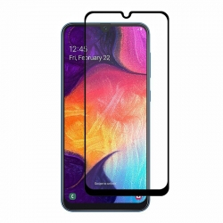 Защитное стекло Samsung A10S (2019) Full Screen Black (no package)