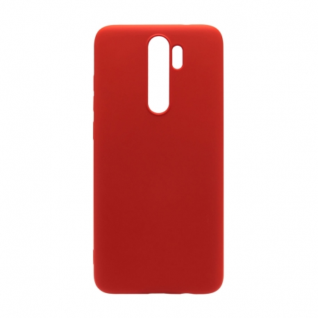 Чехол-накладка Xiaomi Redmi Note 8 Pro TPU Brushed Red