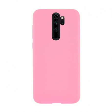Чохол-накладка Xiaomi Redmi Note 8 Pro WAVE Full Silicone Cover (light pink)