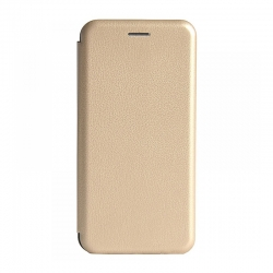 Чехол-книжка Samsung A20s (2019) Premium Leather Case Gold