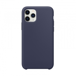 Чохол-накладка iPhone 11 Pro Max Silicone Case (midnight blue)