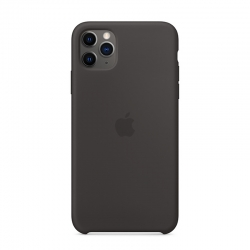Чохол-накладка iPhone 11 pro Silicone Case (black)