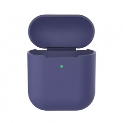 Чехол для Airpods 2 Silicone Case midnight blue
