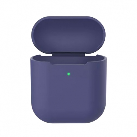Чохол для Airpods 2 Silicone Case midnight blue