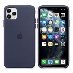 Чехол-накладка iPhone 11 pro Silicone Case (midnight blue)