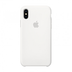 Чехол-накладка iPhone Xs Max Silicone Case white